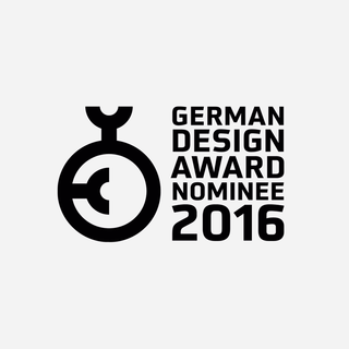 Nominee for Newcomer German Design Award 2016