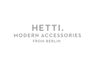 New corporate design – Hetti.