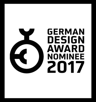 Nominee for Newcomer German Design Award 2017