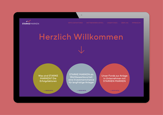 Starke Marken – website